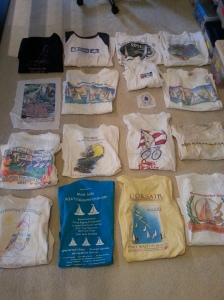 before picture - shirts