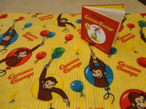 Curious George throw