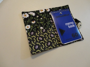 notebook cover open