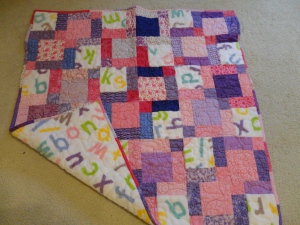 Peggy - baby quilt