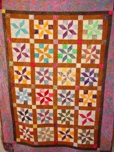 Shelley's Batik quilt