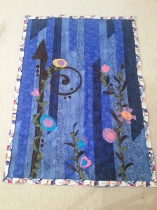 art quilt wallhanging