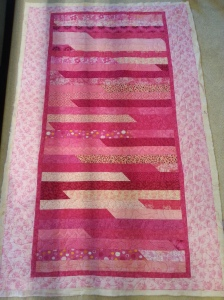 Janet's pink quilt