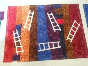 ladder quilt 1