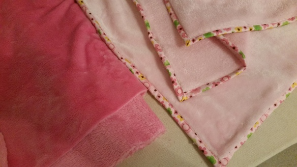 double sided minky baby blankets
