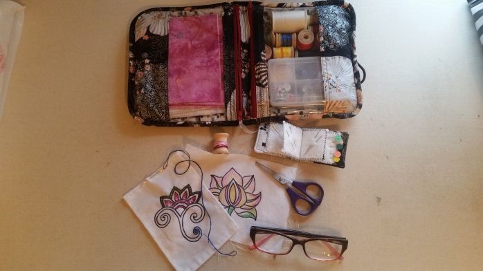 Travel Sewing Kit - filled