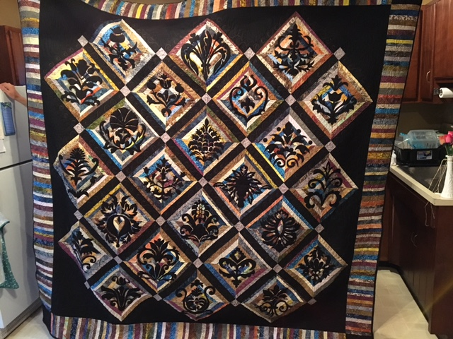 Wedding Quilt finished