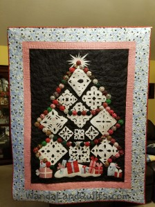 2013 Black Family Snowflake Quilt