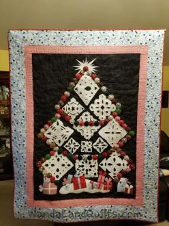 2013 Black Family Snowflake Quilt