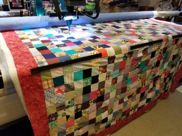 Grandma's 4 inch Squares Quilt