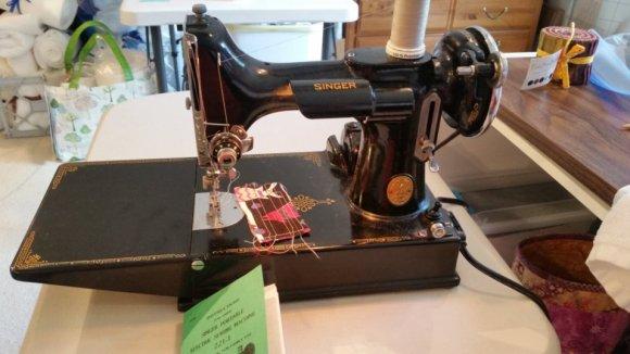 My Featherweight Sewing Machine