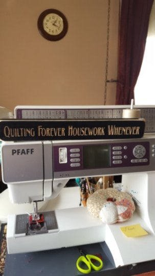 Quilting Forever Housework Never