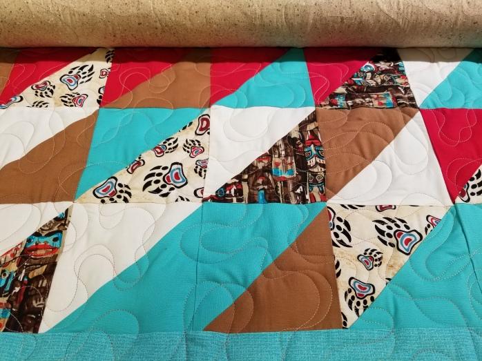 Martha's baby quilt 8