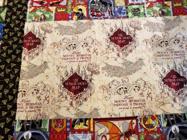 Harry Potter quilt 2