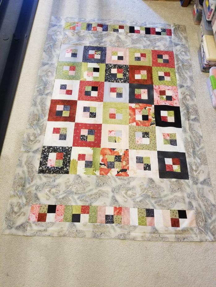 Pandoras Box quilt top