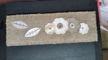 wool bookmark 2